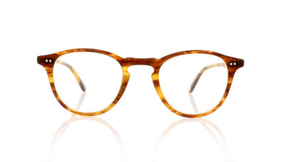 Garrett Leight Hampton 1001 MPIW Matte Pinewood Glasses at OCO