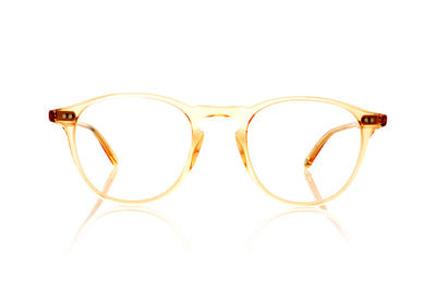 Garrett Leight Hampton 1001 PCY Pink Crystal Glasses at OCO