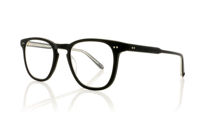 Garrett Leight Brooks 1002 MBK Matte Black Glasses at OCO