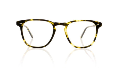 Garrett Leight Brooks 1002 MTSPT Matte Tokyo Spotted Tortoise Glasses at OCO