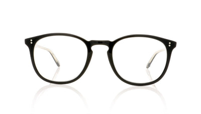 Garrett Leight Kinney 1007 BK Black Glasses at OCO