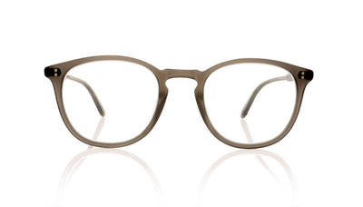 Garrett Leight Kinney 1007 MGCR Matte Grey Crystal Glasses at OCO