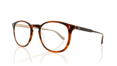 Garrett Leight Kinney 1007 WHT Whiskey Tortoise Glasses at OCO