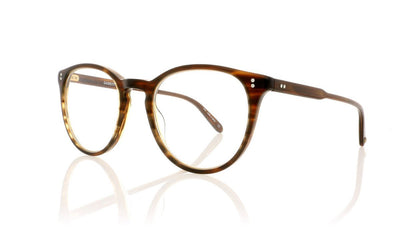 Garrett Leight Milwood 1032 BRT Brandy Tortoise Glasses at OCO