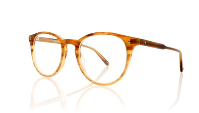 Garrett Leight Milwood 1032 MBTF Matte Blonde Tortoise Fade Glasses at OCO