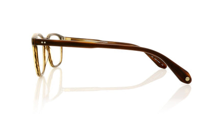 Garrett Leight Howland 1056 MBRT Matte Brandy Tortoise Glasses at OCO