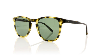 Garrett Leight Brooks 2002 MTSPT/G15 PLR Matte Tokyo Spotted Tortoise Sunglasses at OCO