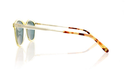 Garrett Leight Kinney 2007 CH CH DKTF/BS PLR Champagne Sunglasses at OCO