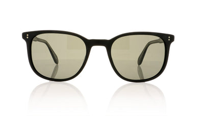 Garrett Leight Bentley 2036 MBK/PGY Matte Black Sunglasses at OCO