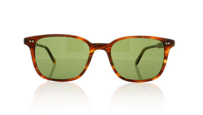 Garrett Leight Bryn Mawr 2043 MCN/G PLR Matte Chestnut Sunglasses at OCO