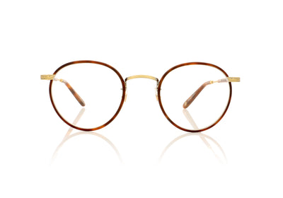 Garrett Leight Wilson 3003 MBT/AG/MDHT Matte Butterscotch Glasses at OCO
