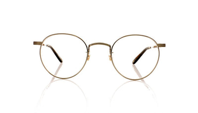 Garrett Leight Wilson M 3005 BS/MSLG Brushed Silver Glasses at OCO