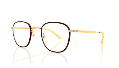 Garrett Leight Grant 3009 AMT G HB Amber Tortoise Glasses at OCO
