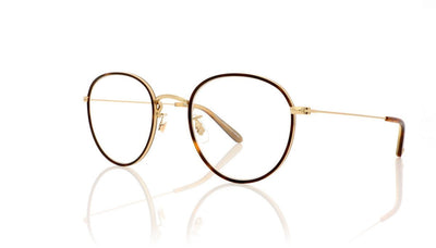 Garrett Leight Paloma RT-G Red Tortoise Glasses at OCO