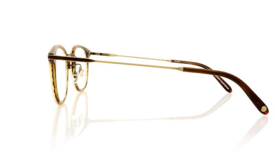 Garrett Leight Kinney Combo 3018 MBRT Matte Brandy Tortoise Glasses at OCO