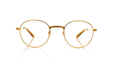 Garrett Leight Cloy 3019 G-CL Gold Caramel Laminate Glasses at OCO