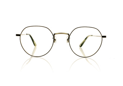 Garrett Leight Robson PW-BA Pewter Basalt Glasses