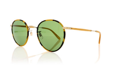 Garrett Leight Wilson M 4005 TT-AH/PGN Tk Trt Sunglasses at OCO