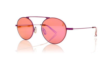 Garrett Leight Zeno M 4014 PU-LA Purple Lavendar Sunglasses at OCO