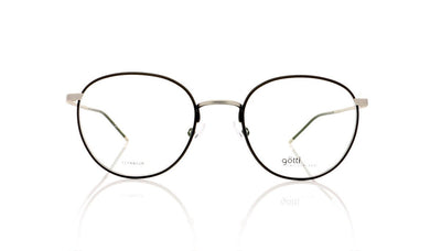 Götti Abou SB-BLKM Silver Brushed Glasses at OCO