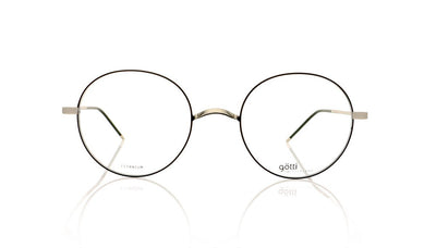 Götti Adan SB-BLKM Silver Brushed Glasses at OCO