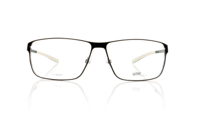 Götti Jeon BLKM Black Matte Glasses at OCO