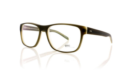 Götti MUSE GRNY-M Olive Matte Glasses at OCO