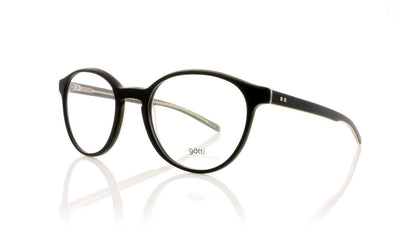 Götti Reto BLKY-M Black Glasses at OCO