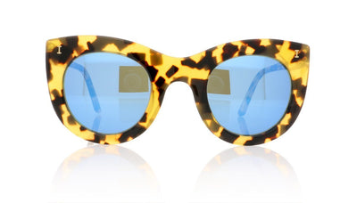 Illesteva Boca C12 Honey Tortoise Sunglasses at OCO
