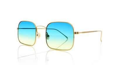 Illesteva Dean C5 Gold Sunglasses at OCO