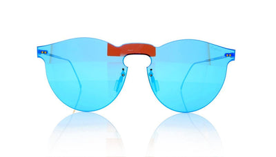 Illesteva Leonard Mask 03 Light Blue Sunglasses at OCO