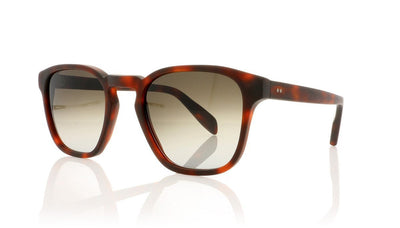 Kirk Originals Genoa MHBRF Matte Havana Sunglasses at OCO