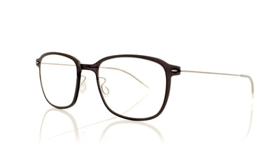 Lindberg n.o.w. titanium 6510 C06/10 Black With Silver Temples Glasses at OCO