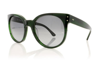 Oliver Goldsmith Balko 8 Evergreen Sunglasses at OCO