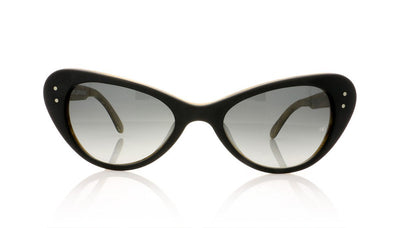 Oliver Goldsmith Grace 1 Matte Black Sunglasses at OCO