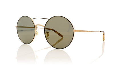 Oliver Peoples Nickol OV1214S 5271Y5 Brushed Gold Sunglasses at OCO