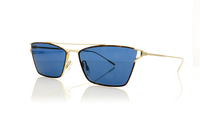 Oliver Peoples Evey OV1244S 528380 Gold Sunglasses at OCO