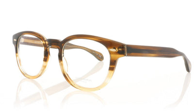 Oliver Peoples Sheldrake OV5036 1373 Brown Textured Tort Grad Glasses