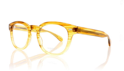 Oliver Peoples Sheldrake OV5036 1507 Vintage Surf Brown Glasses at OCO