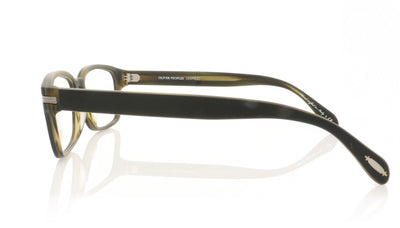 Oliver Peoples Jonjon 1282 Matte Black Glasses at OCO