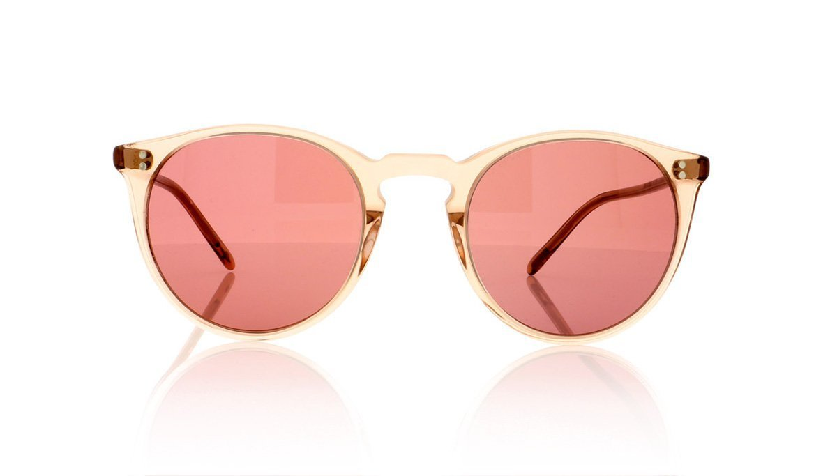 077afdcd95d Oliver Peoples The Row O malley NYC OV5183SM 15553O Translucent Amber  Sunglasses at OCO