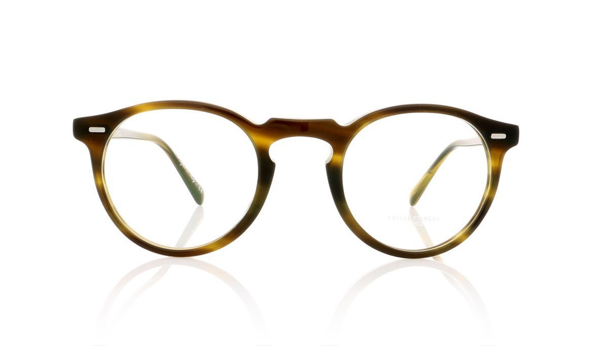 3a8b7540845 Oliver Peoples Gregory Peck OV5186 1211 Moss Tortoise Glasses at OCO