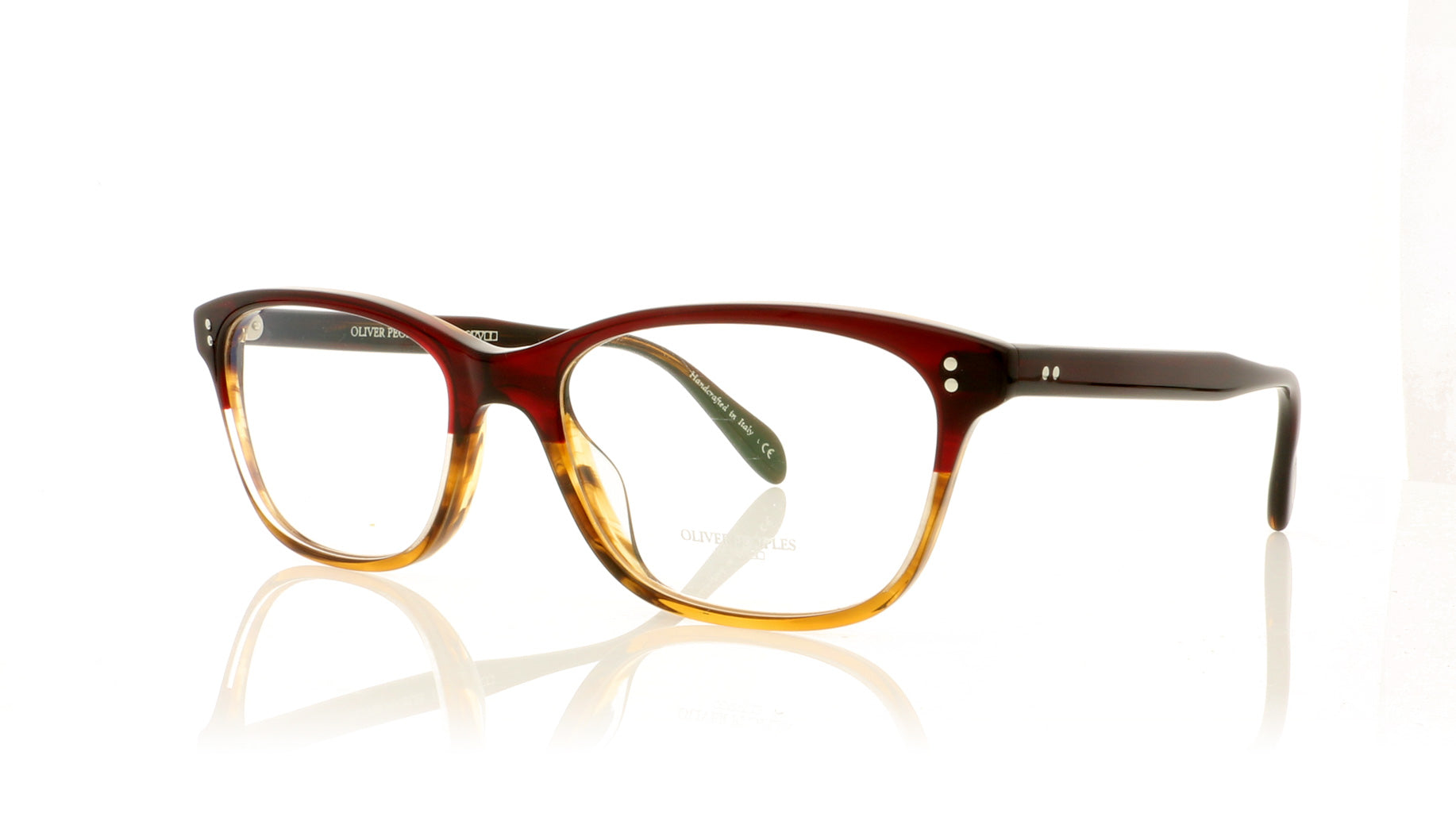 a745370971 Oliver Peoples Ashton OV5224 1224 Red Tortoise Gradient Glasses at OCO