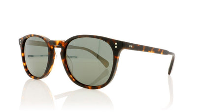 Oliver Peoples Finley Esq. Sunglasses OV5298SU 145409 Semi Matte Sable Tortoise Sunglasses at OCO