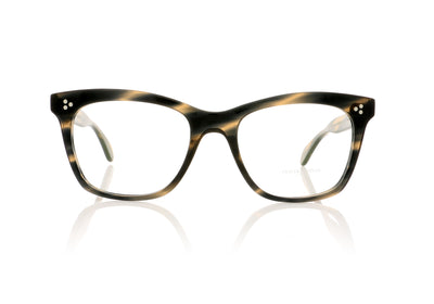 Oliver Peoples Penney OV5375U 1611 Blue Cocobolo Glasses at OCO
