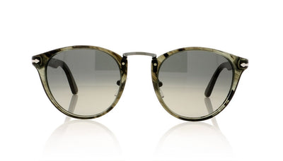 d7a72f5266d04 Persol Typewriter Edition 3108-S 1020 71 Strpd Gry Sunglasses at OCO