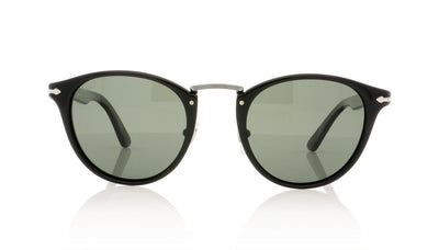 Persol Typewriter Edition 3108-S 95/58 Black Polar Sunglasses at OCO