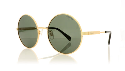 Polaroid PLD 4052/S J5GUC Gold Sunglasses at OCO