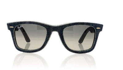 Ray-Ban Wayfarer RB2140 116371 Jeans Sunglasses at OCO