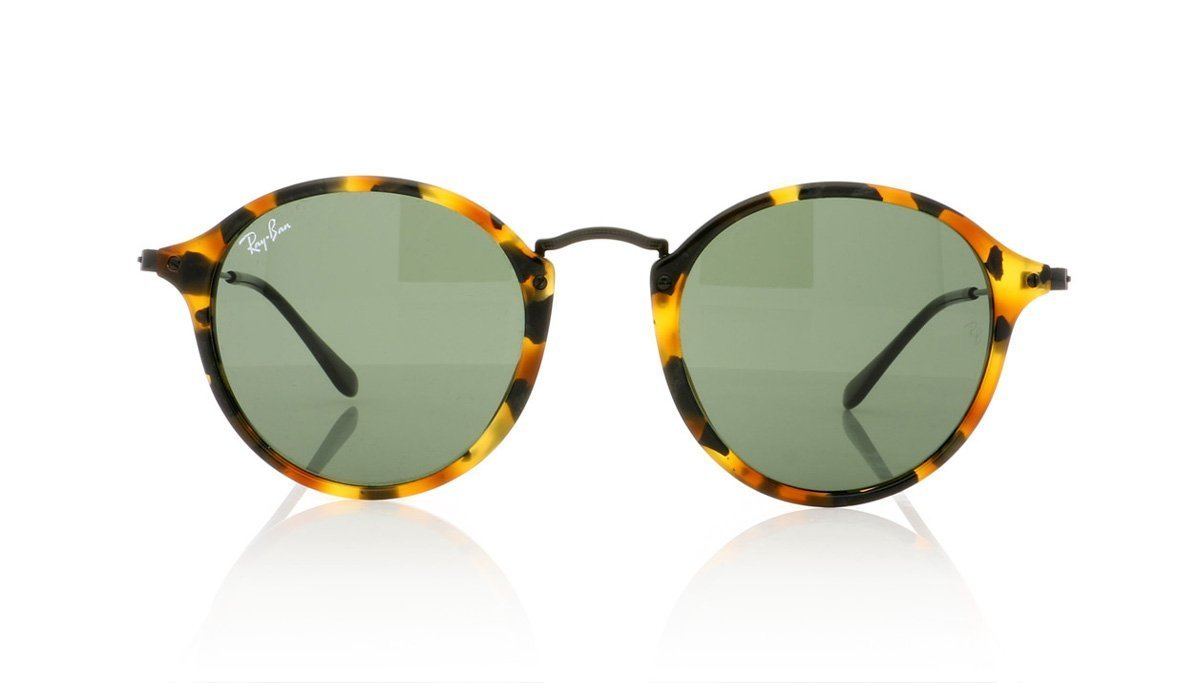 62dbe08bbc4 Ray-Ban RB2447 11594E Spotted Green Hav Sunglasses at OCO